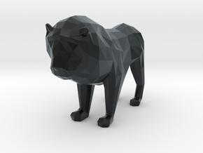 Lion in Black Hi-Def Acrylate