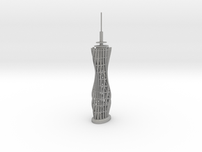 Pyramidenkogel Tower (single-part model) in Aluminum
