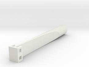 "Saflex Standard - 3/8"" Socket in White Natural Versatile Plastic"
