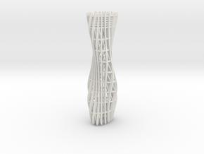 Pyramidenkogel Tower (part 1 of 4) in White Natural Versatile Plastic