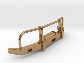 RC Toyota Hilux Bullbar 1:18 scale in Polished Brass
