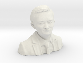 Jack Ma 3D in White Strong & Flexible: Extra Small