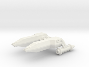 3125 Scale LDR Frigate (FF) CVN in White Natural Versatile Plastic