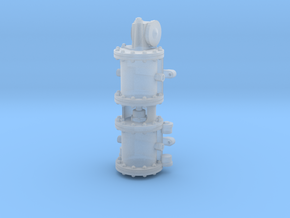 Westinghouse Single Phase Air Compressor in Smooth Fine Detail Plastic: 1:48 - O