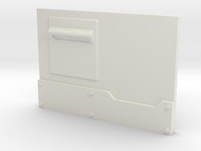 """Metal Box APC"" Panel #1 Lite in White Natural Versatile Plastic"