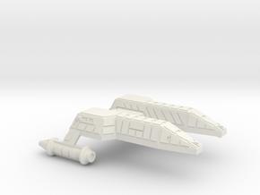 3125 Scale Lyran Leopard Destroyer (DD) CVN in White Natural Versatile Plastic
