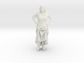 Printle H Femme 026 - 1/32 - wob in White Natural Versatile Plastic