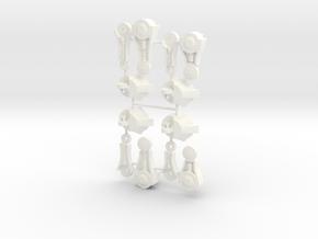 MOTU Stridor/Night Stalker legs, complete set. in White Processed Versatile Plastic