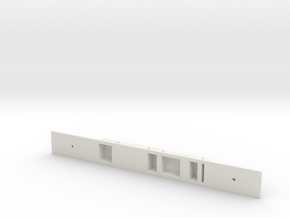 Class 378 MOS Chassis in White Natural Versatile Plastic