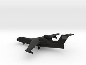 Beriev Be-200 Altair in Black Natural Versatile Plastic: 1:400