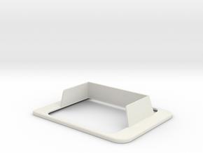 Clover Mini Convenience Privacy Shield in White Natural Versatile Plastic