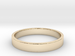 Minimalist band in 14K Yellow Gold: Extra Small