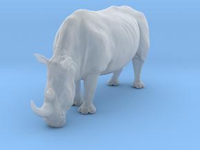 White Rhinoceros 1:32 Grazing Female in Smooth Fine Detail Plastic