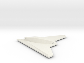 1/350 Phantom Ray in White Natural Versatile Plastic