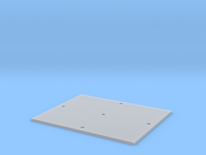Trench Plate - 8'x10' in Smooth Fine Detail Plastic
