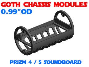GCM099 - PRIZM 5 soundboard chassis in White Natural Versatile Plastic
