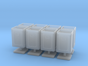 1/72 40mm Ammo Box Lid Open Set in Smooth Fine Detail Plastic