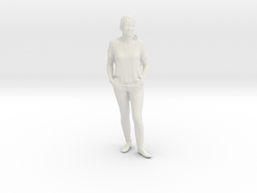 Printle C Femme 404 - 1/32 - wob in White Natural Versatile Plastic