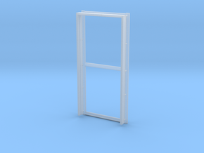 Door Frame 36x80-02 1/35 in Smooth Fine Detail Plastic