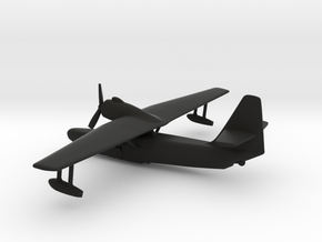 Beriev Be-8 Mole in Black Natural Versatile Plastic: 1:200