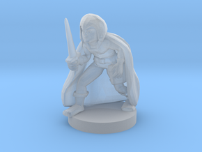 Halfling Male Rogue in Smooth Fine Detail Plastic