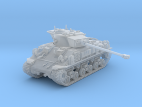 1/160 US M50 Super Sherman Tank in Smooth Fine Detail Plastic