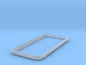 Slim Bumper for iPhone 7  in Smooth Fine Detail Plastic