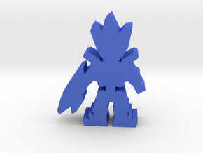 Game Piece, Crystal Alien, Rifle Standing in Blue Processed Versatile Plastic