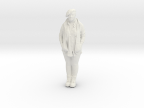 Printle C Femme 467 - 1/32 - wob in White Natural Versatile Plastic