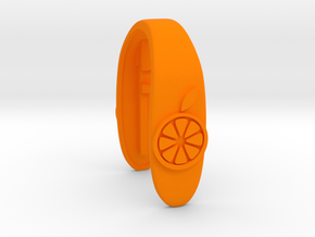 ORANGE 2 KEY FOB in Orange Processed Versatile Plastic
