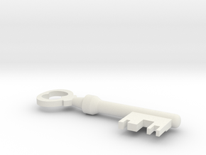 Mann co. key in White Natural Versatile Plastic