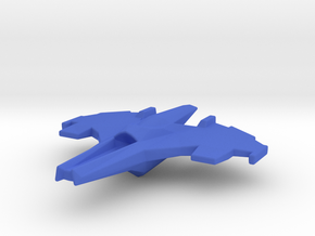 Wraith Class Fighter 1½ inch in Blue Processed Versatile Plastic