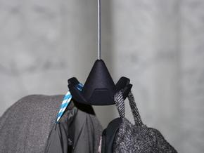 Sombrero / coat rack in Black Natural Versatile Plastic