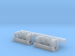 N Double Spare Knuckle Box in Smooth Fine Detail Plastic