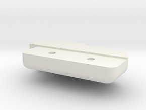 Top Right Seal in White Natural Versatile Plastic