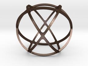 GENESA CRYSTAL in Matte Bronze Steel