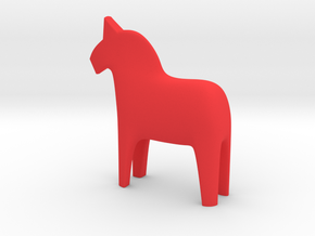 Dala Horse in Red Processed Versatile Plastic