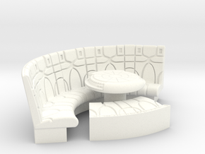 YT1300 1/24 PLAYMO COUCH W DEJARIKK in White Processed Versatile Plastic
