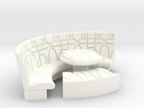 YT1300 1/24 PLAYMO COUCH W DEJARIKK in White Processed Versatile Plastic