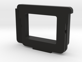 Olympus OM-D E-M1* angle finder adapter in Black Natural Versatile Plastic