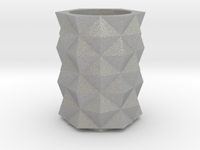 Prism Vase in Aluminum