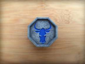 Bull Talisman in Full Color Sandstone