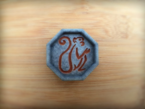 Monkey Talisman in Full Color Sandstone