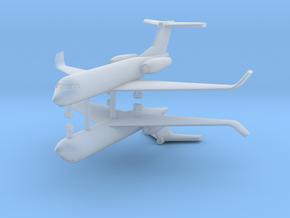 1/600 Low Detail G550 Gulfstream (x2) in Smooth Fine Detail Plastic
