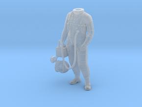 Mercury Astronaut Standing in Smooth Fine Detail Plastic: 1:24