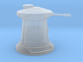 df9 defense tower 1:114 scale in Smooth Fine Detail Plastic