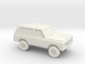 1/87 1972 Chevy Blazer in White Natural Versatile Plastic