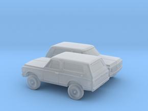 1/160 2X 1970-72 Chevy Blazer in Smooth Fine Detail Plastic