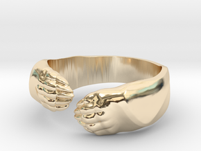 Big Bear Hug ring in 14K Yellow Gold: 6.5 / 52.75