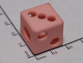 Hollow Die in White Natural Versatile Plastic